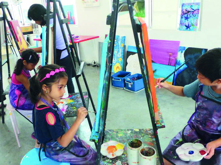 Be an artist at The Studio @ KL