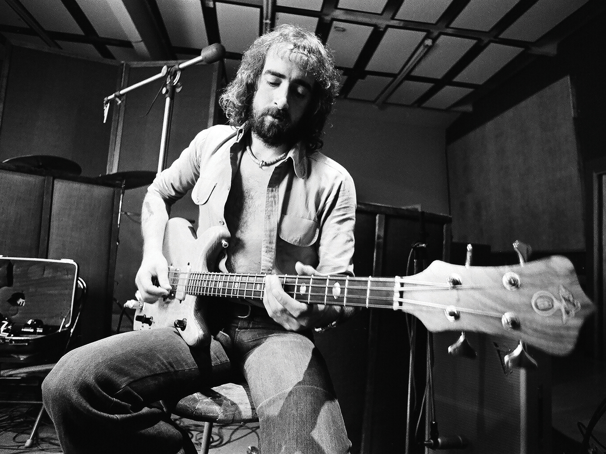 John McVie of Fleetwood Mac