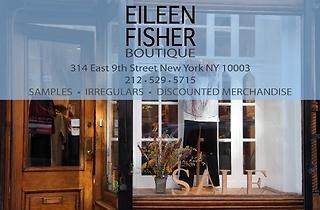 Eileen Fisher sample sale