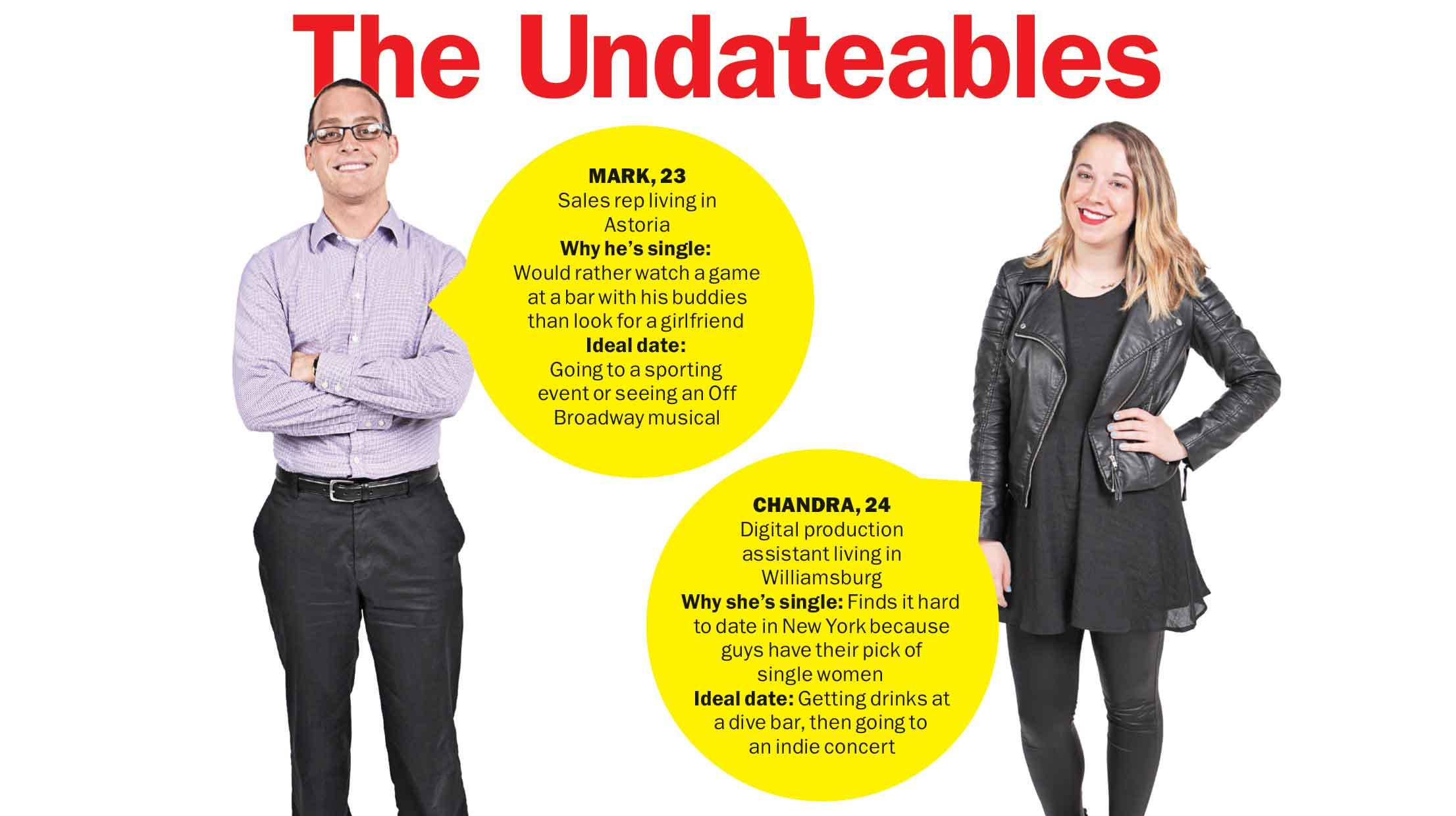 Meet the Undateables: Mark and Chandra