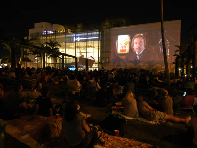 Catch a flick under the stars