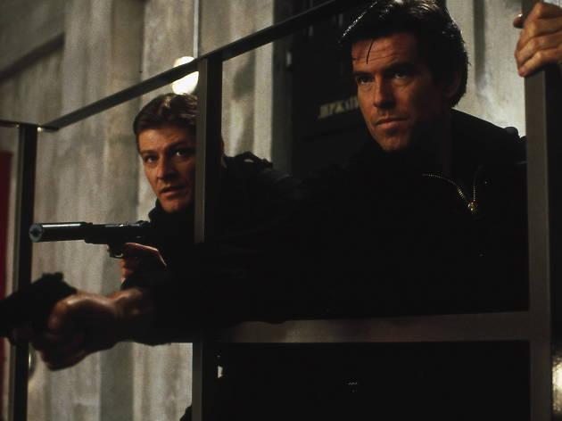 Goldeneye..Sean Bean and Pierce Brosnan...MGM