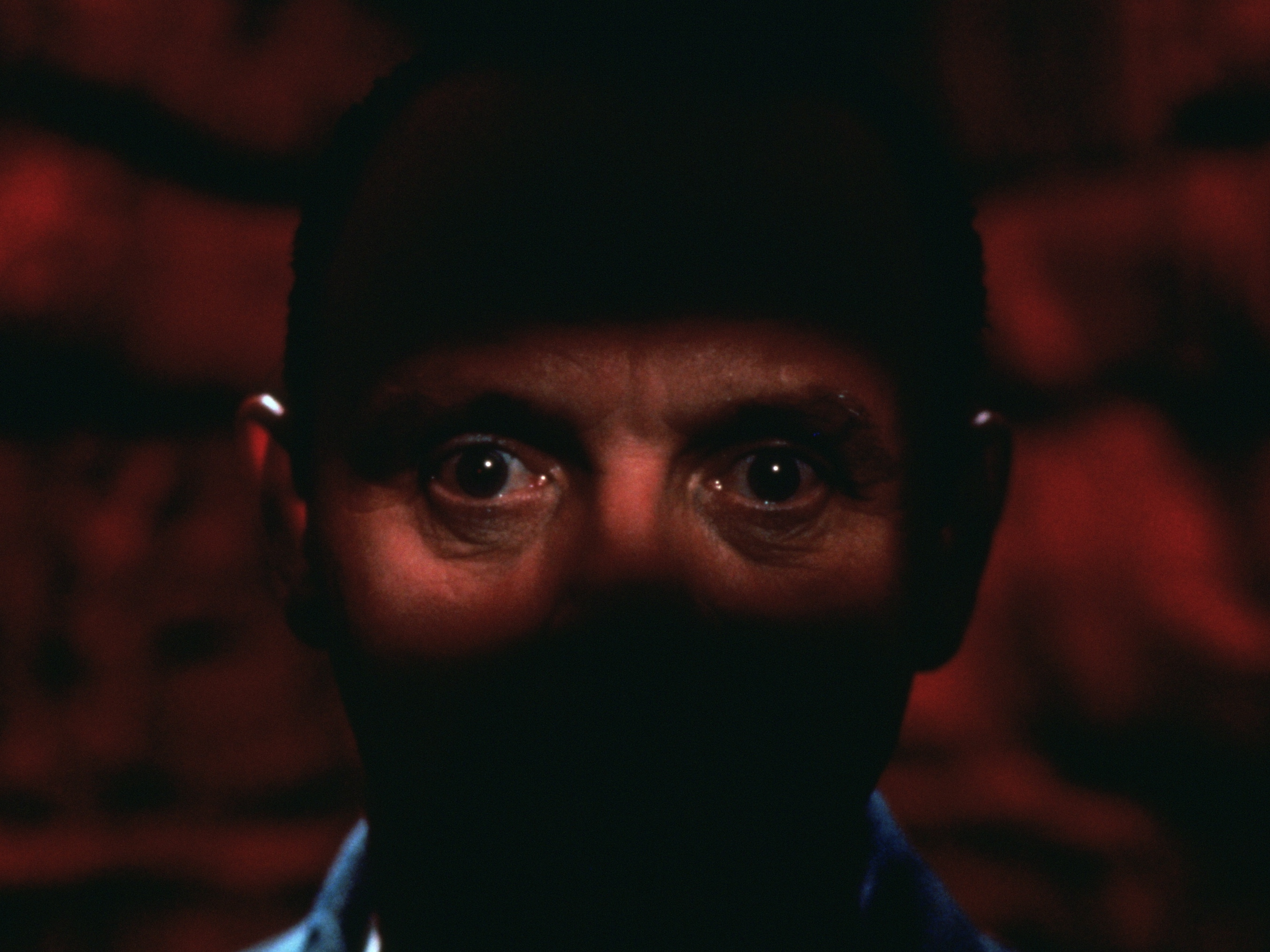 The Silence Of The Lambs..Anthony Hopkins as Dr. Hannibal Lecter