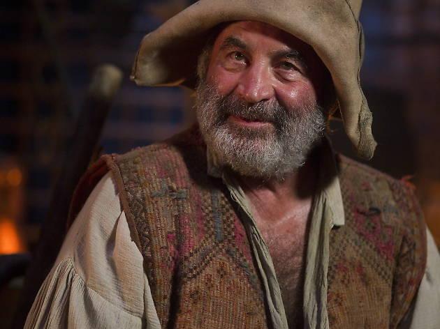 Ten great screen villains - Bob Hoskins as Mr. Smee in Neverland....RHI Films