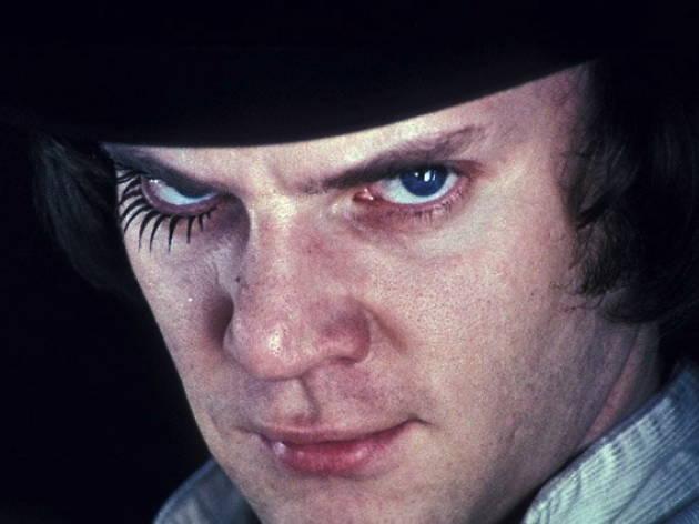 Ten great screen villains, Malcolm McDowell, A Clockwork Orange