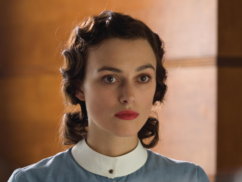Ten great British leading ladies - Atonement - Keira Knightley as Cecilia Tallis