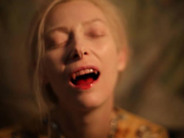 Ten great British leading ladies, Tilda Swinton, Only Lovers Left Alive. Sky Movies HD. Soda Pictures