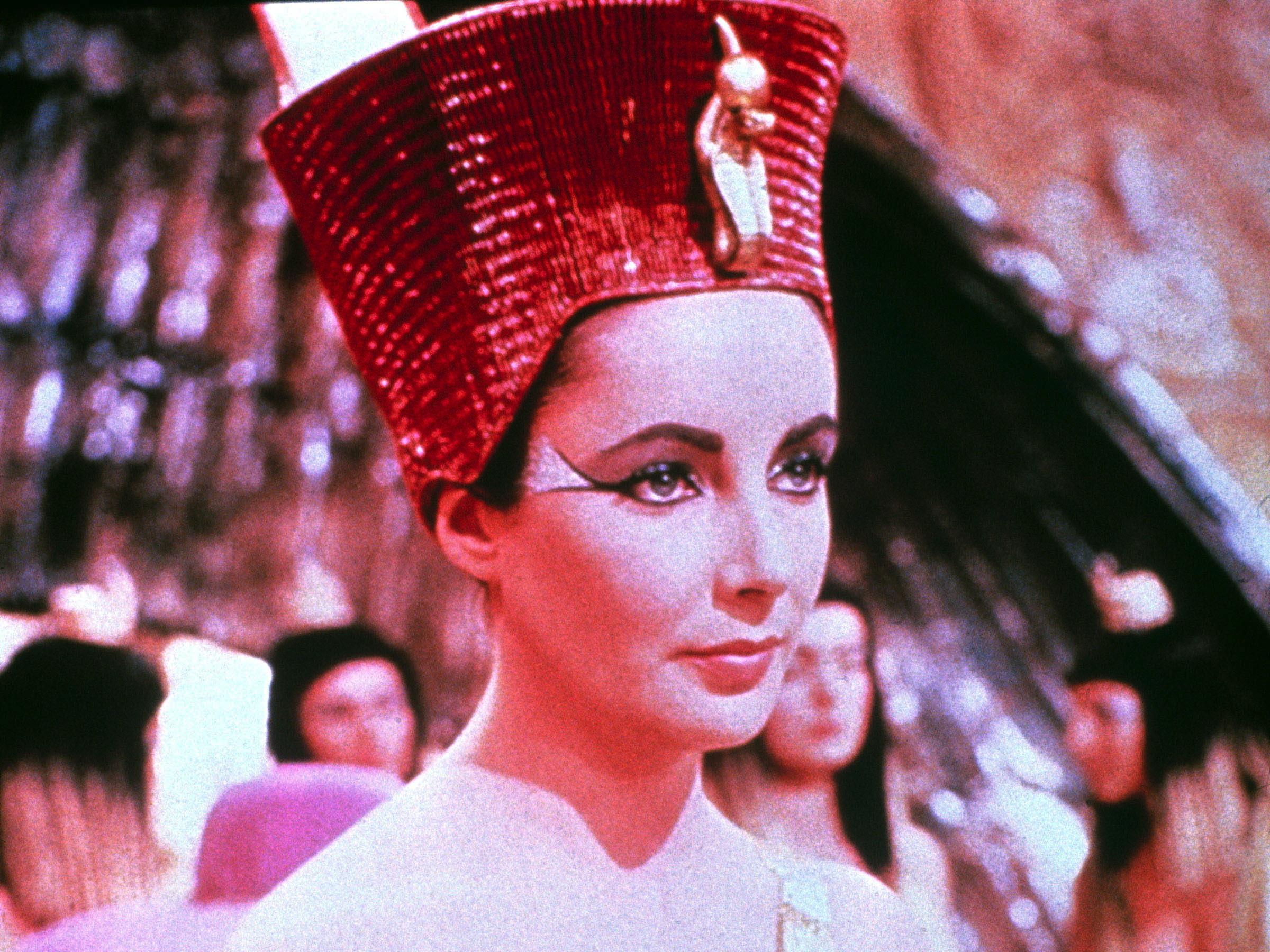 Ten great British leading ladies, Cleopatra, Elizabeth Taylortra,  ...Fox