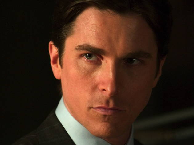 Ten great British action heroes, Batman Begins - Medium shot of Christian Bale as Bruce Wayne.