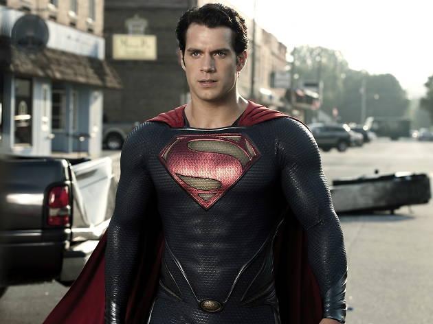 Ten great British action heroes, Man Of Steel, Henry Cavill as Kal-El..TM & .. DC Comics