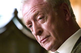 50 Great British actors, Batman Begins - Medium shot of Michael Caine as Alfred.