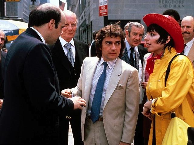 Arthur (1981)..Featuring John Gielgud as Hobson; Dudley Moore as Arthur; Liza Minelli as Linda Marolla.... Warner Brothers