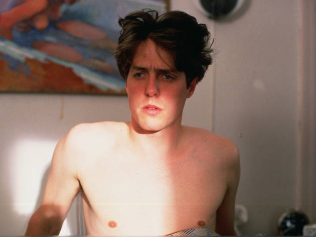 50 Great British actors, Four Weddings And A Funeral..Hugh Grant as Charles../ MGM