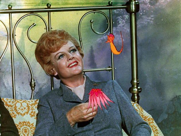 50 Great British actors, Angela Lansbury in Bedknobs & Broomsticks ..Disney