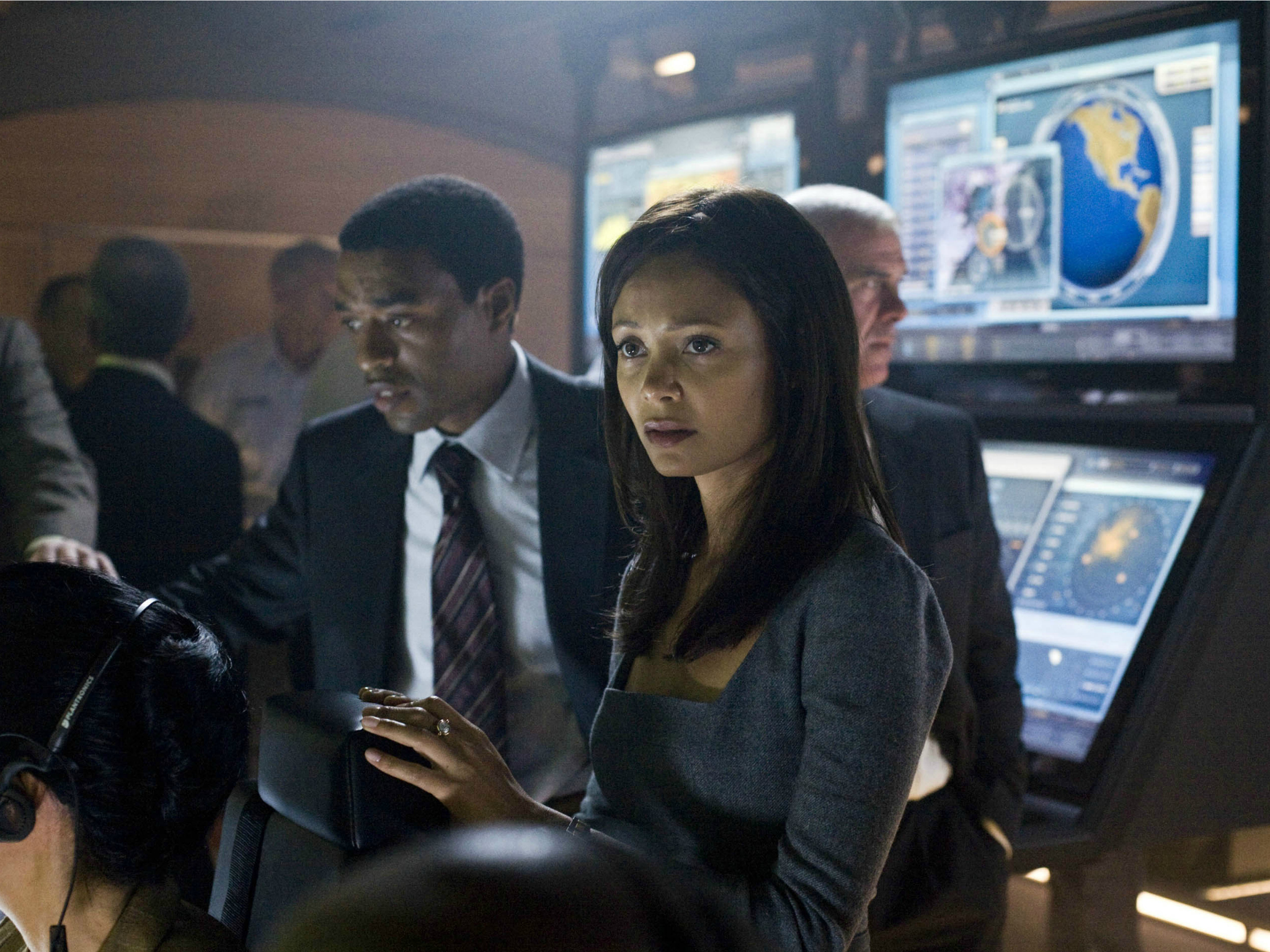 50 Great British actors, Chiwetel Ejiofor and Thandie Newton in 2012 ..Columbia Pictures.