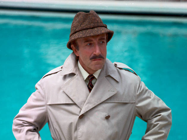 50 Great British actors, Return of the Pink Panther, Peter Sellers as Insp. Jacques Clouseau.© MGM