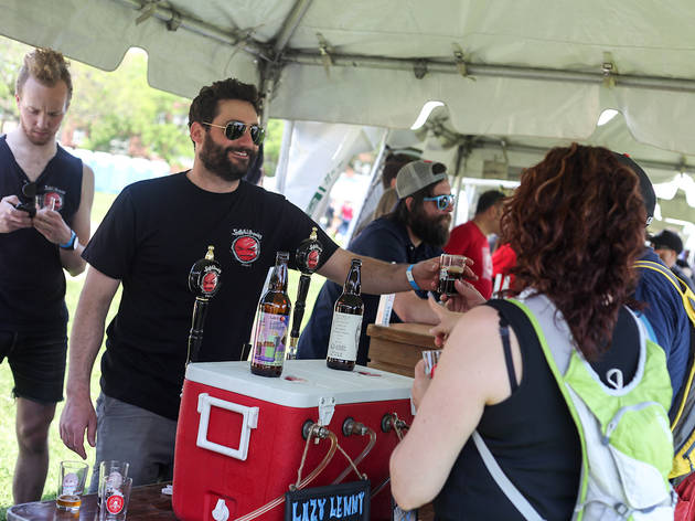Chicago Craft Beer Week moved their closing festival to Welles Park this year.