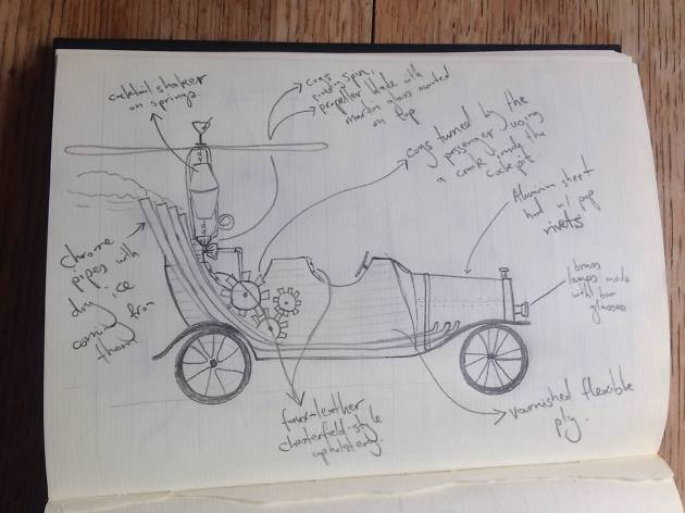 The first sketches