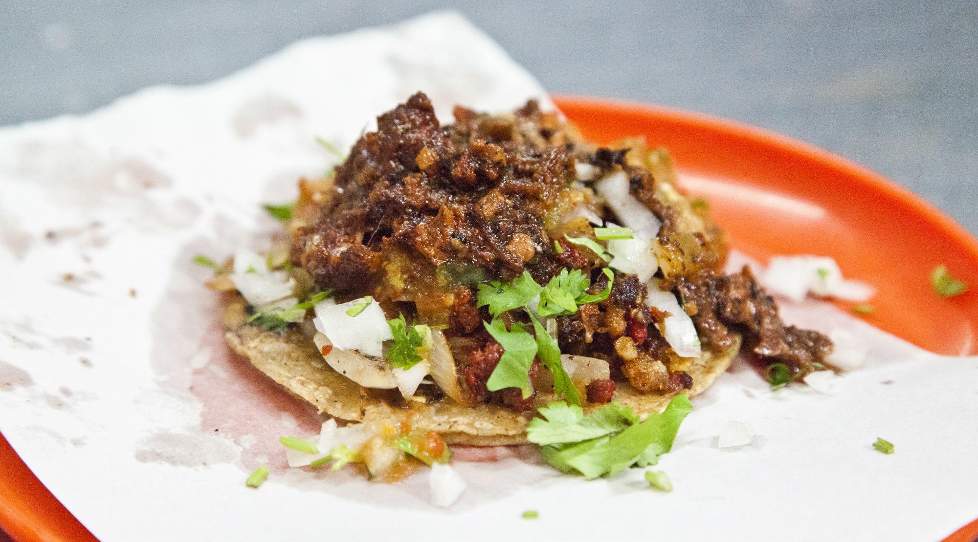 Tacos de cochinada - Tacos Beto