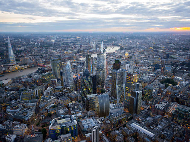 Nine skyscrapers coming to London