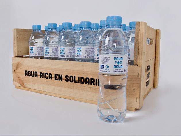 Agua por agua