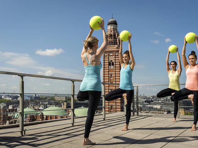 Yoga Tennis
