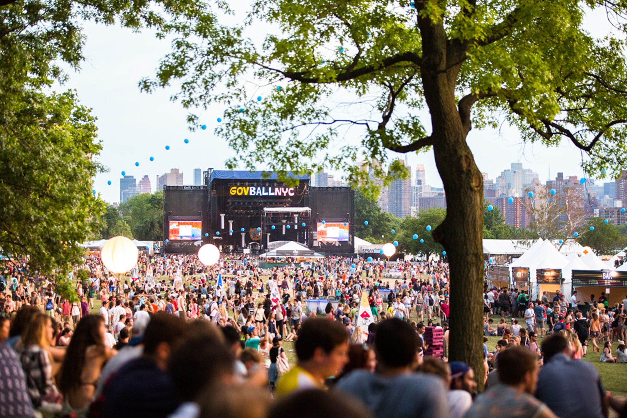 Exclusive: Here's the site map for Governors Ball 2015