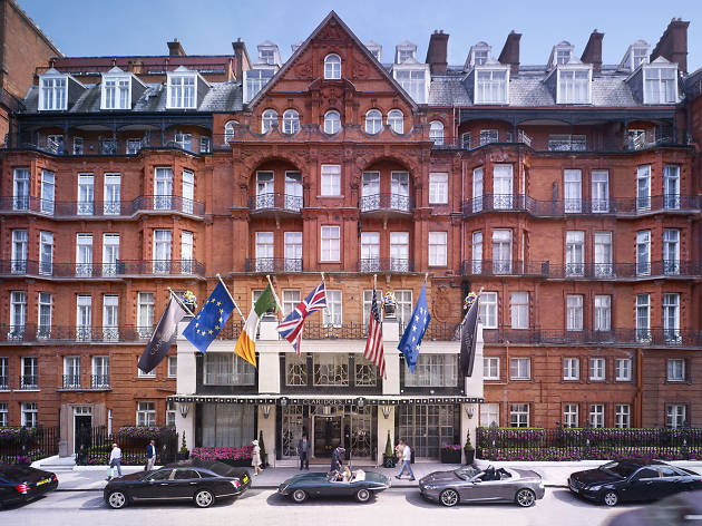 100 best hotels in London: claridge's hotel