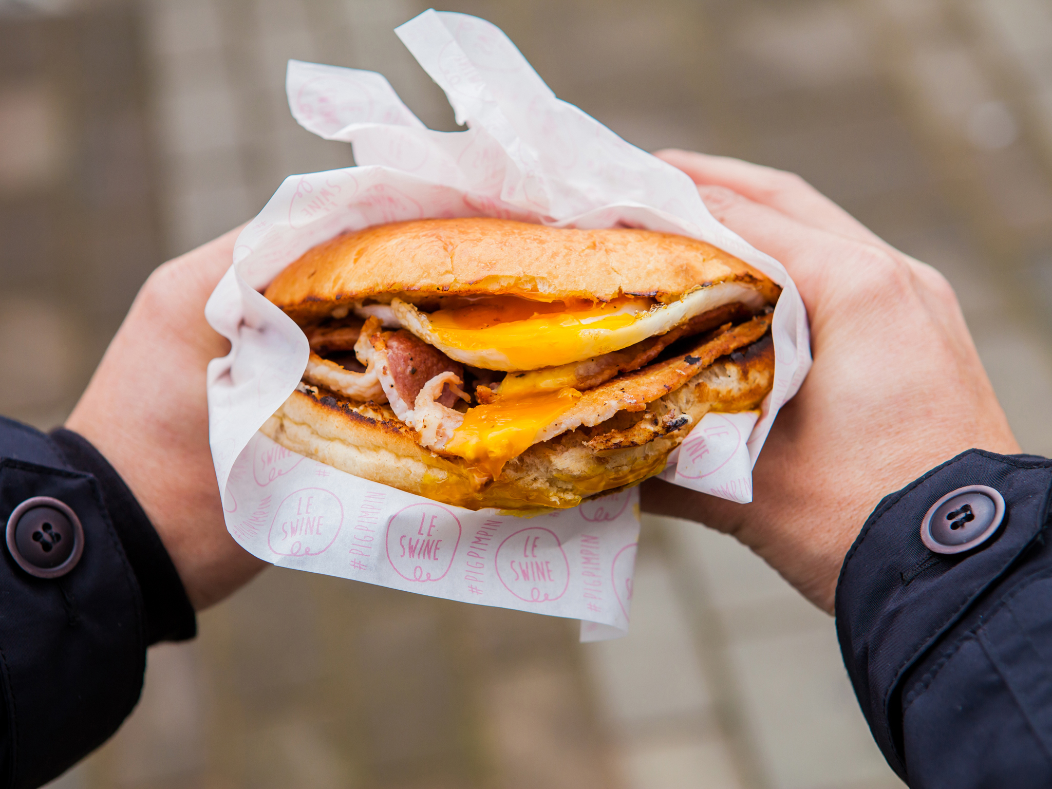 The people's top ten street food stalls in London - Le Swine