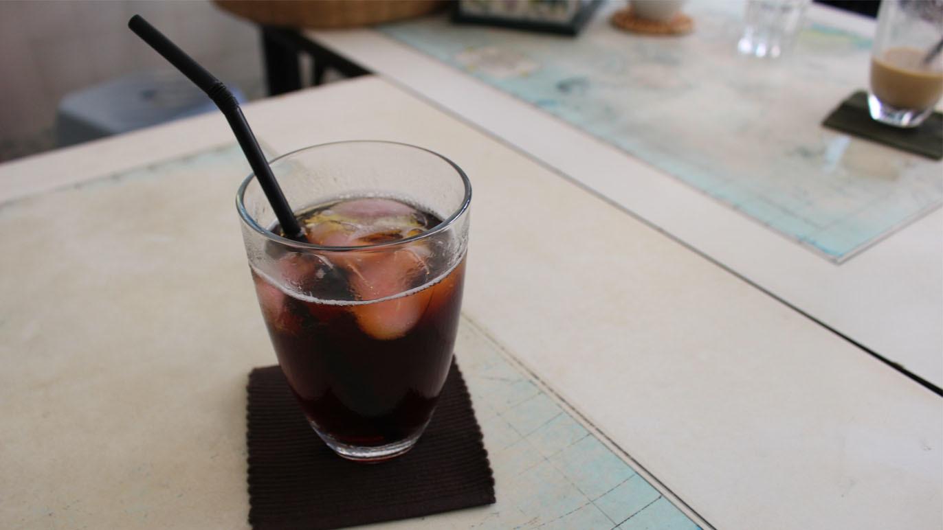 Sip hibiscus coffee