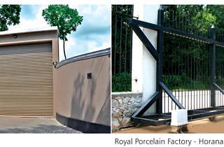 Wooden and steel doors