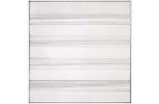 (Agnes Martin: 'Untitled #10', 1990. © 2015 Agnes Martin / Artists Rights Society (ARS), New York )
