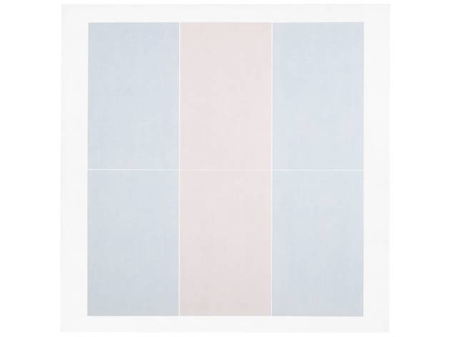 (Agnes Martin: 'Untitled #3', 1974. © 2015 Agnes Martin / Artists Rights Society (ARS), New York )