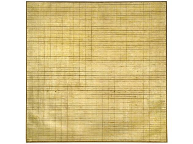 (Agnes Martin: 'Friendship', 1963. © 2015 Agnes Martin / Artists Rights Society (ARS), New York)