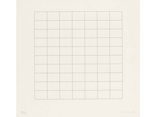 (Agnes Martin: 'On a Clear Day', 1973. © 2015 Agnes Martin / Artists Rights Society (ARS), New York)