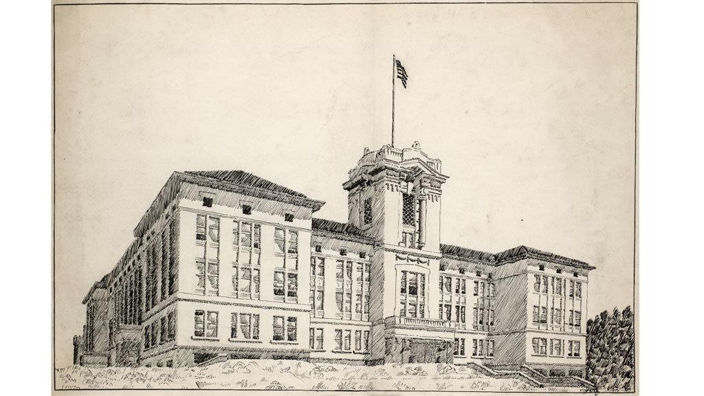 Clark Public School, 1914