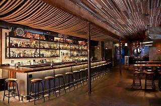 Chuchill bar in San Francisco