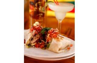Cafe Iguana Chicken Burrito