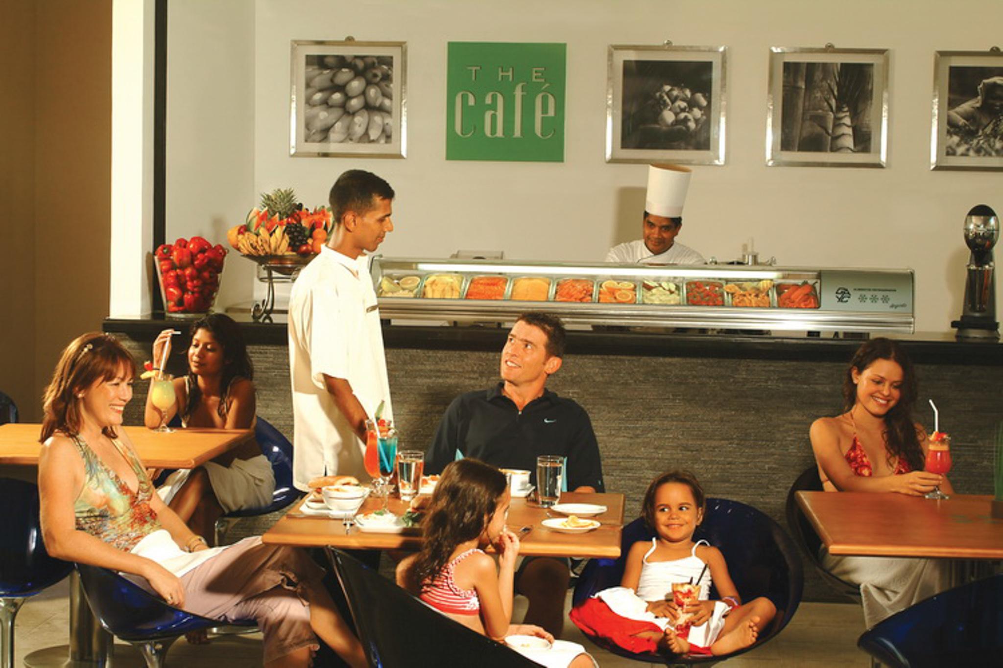 The Café is a cafe in Colombo, Sri Lanka