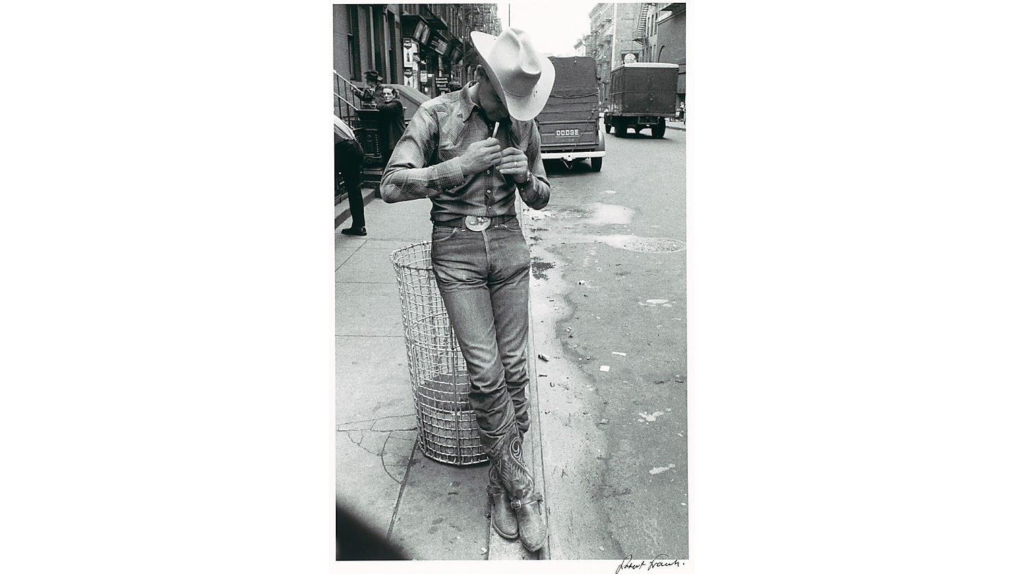 Robert Frank, Rodeo, New York City, 1955–56