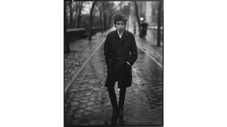 Richard Avedon, Bob Dylan, singer, New York, 1965