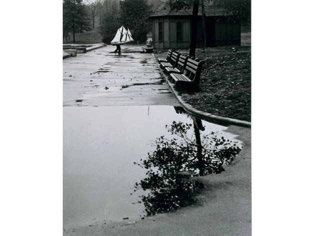 André Kertész, Central Park Boat Basin, New York, 1944
