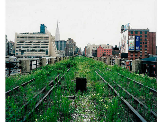 "Joel Sternfeld, from ""Walking the High Line,"" 2001"