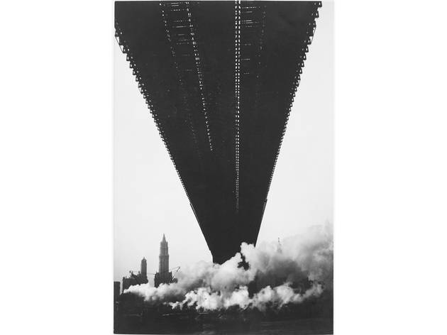 Walker Evans, Brooklyn Bridge, New York, 1929
