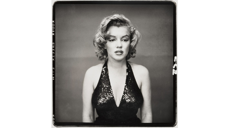 Richard Avedon, Marilyn Monroe, actress, New York, 1957