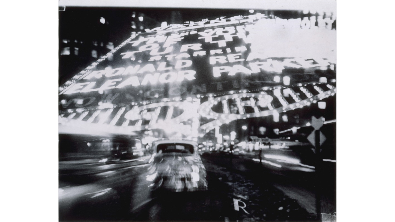 Ted Croner, Times Square, New York, 1947–52