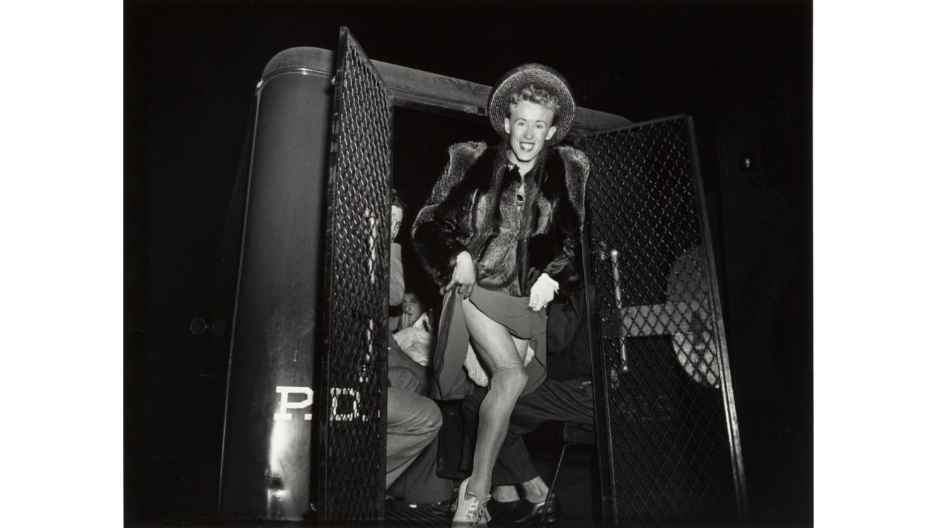 Weegee, Transvestite, 1940