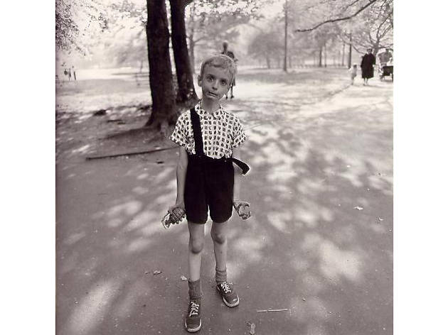 Diane Arbus, Child with Toy Hand Grenade in Central Park, New York City, 1962
