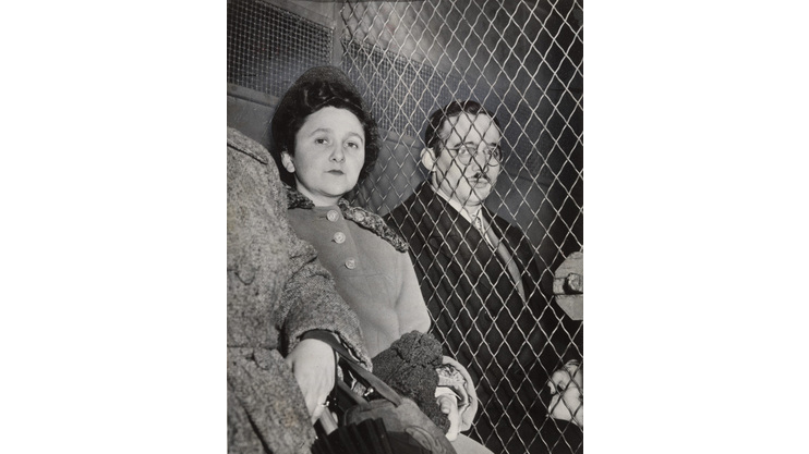 Associated Press, Convicted Spies on Way to Jail, 1951