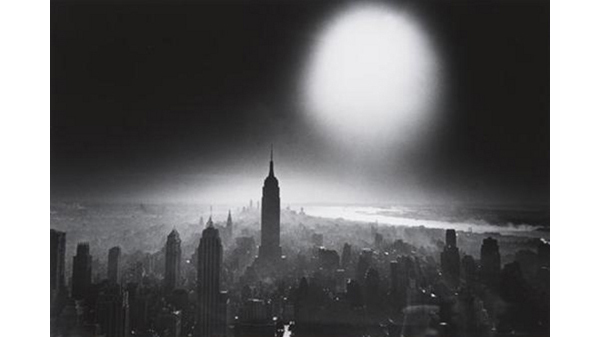William Klein, Atom Bomb Sky, New York, 1955